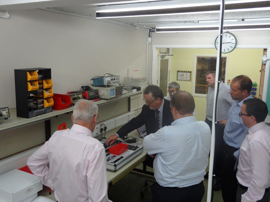 Long Awaited PLC Electronic Test Equipment donated to SETA